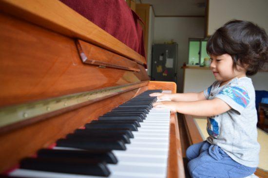 子供とピアノ