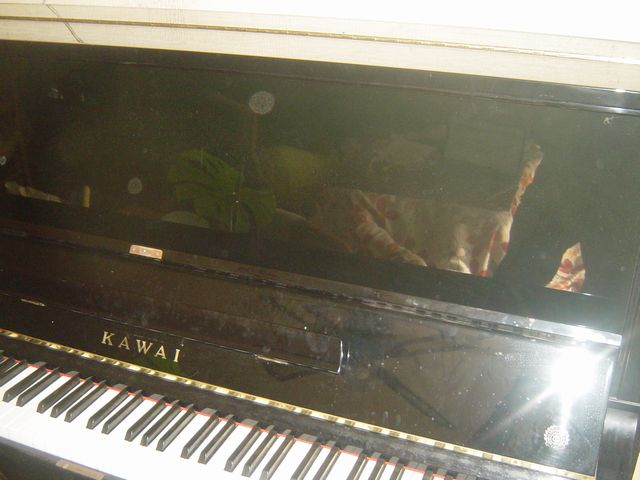 カワイアップライトピアノ