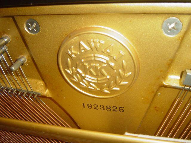 カワイアップライトピアノ製造番号