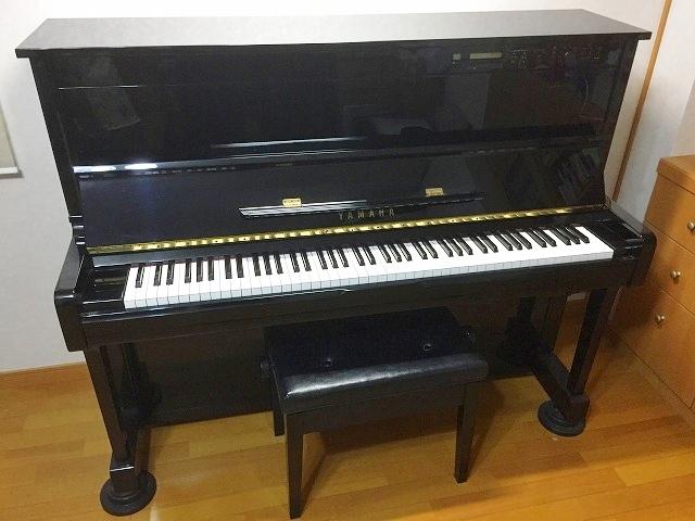 ヤマハアップライトピアノ