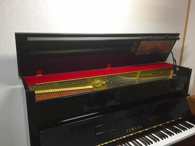 ヤマハアップライトピアノ天板