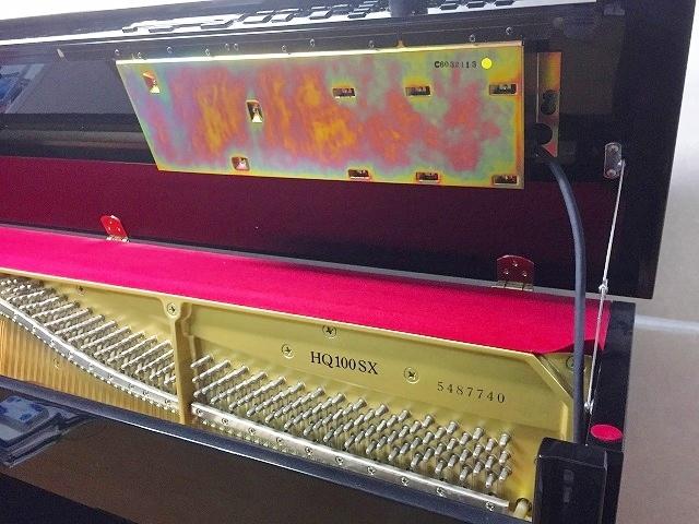 ヤマハアップライトピアノ型番・製造番号
